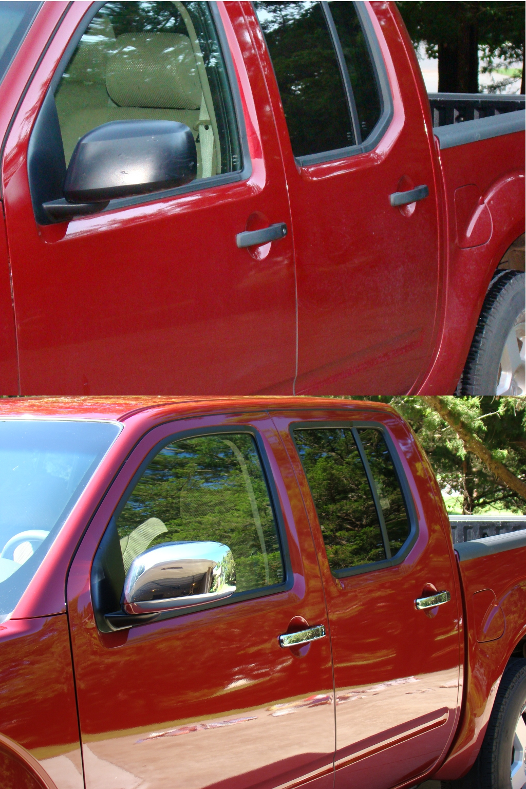 I always liked the looks of the chrome mirrors and door handles on other frontiers that I saw so I purchased these covers on eBay this year to give me the ... & Nissan Frontier Chrome mirror and door handle covers. | Nissan Z site Pezcame.Com