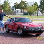 Red 1980 280ZX