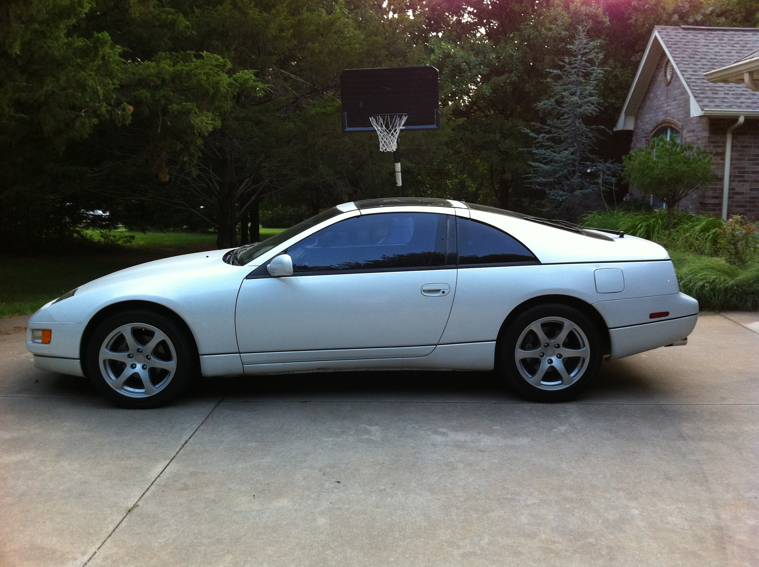 Finally A Cosmetic Enhancement Upgraded 300zx To G35 Wheels