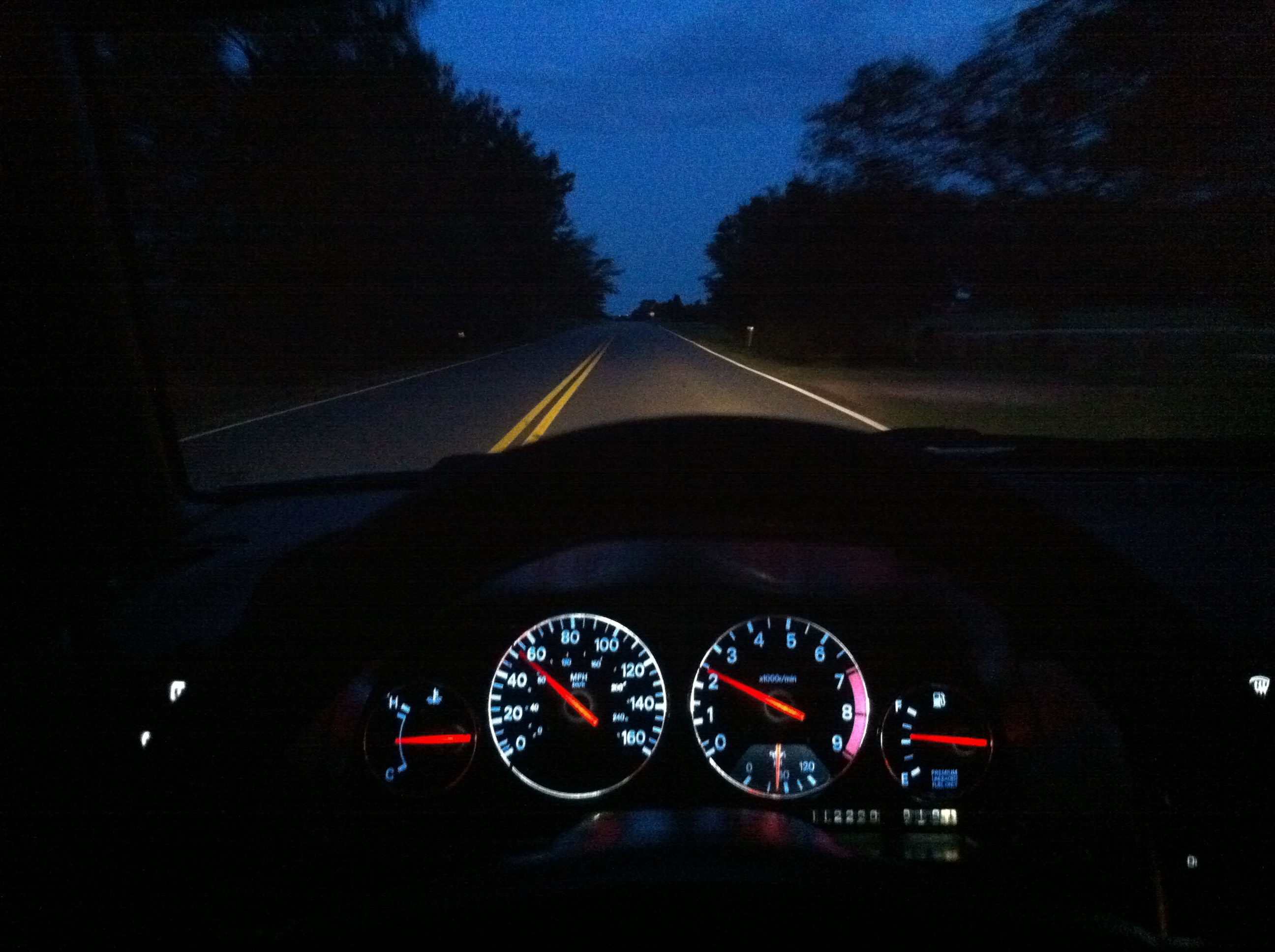 300zx With Upgraded Led Dash Lights