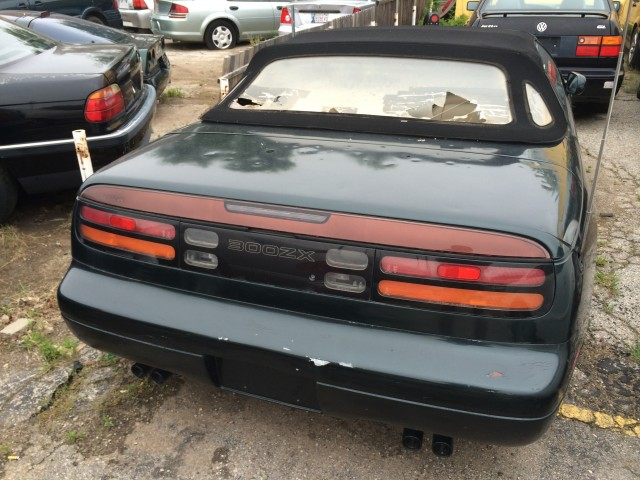 1994 Z32 300ZX convertible that needs quite a bit of TLC